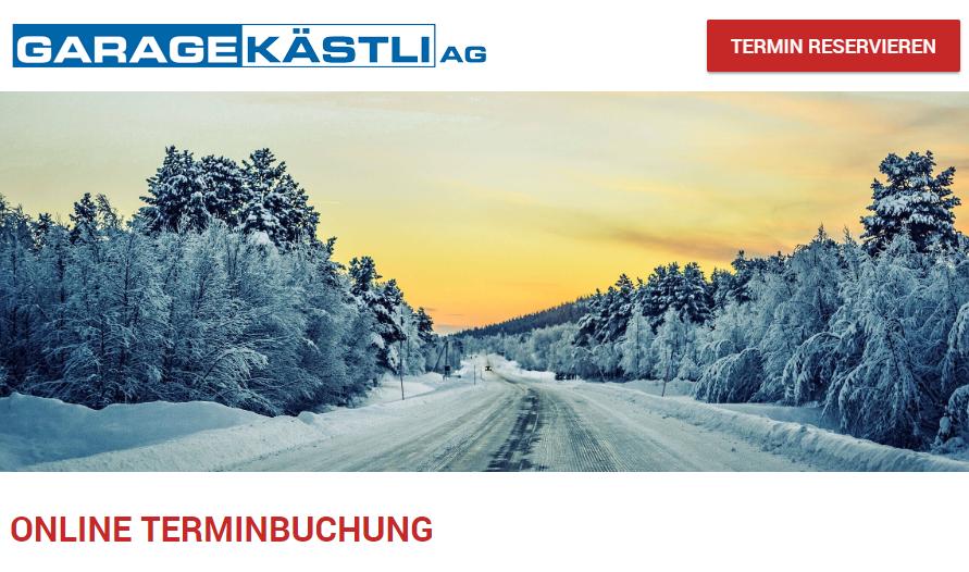 Online Terminplaner Garage Kästli - Subaru Vertretung, Suzuki Vertretung