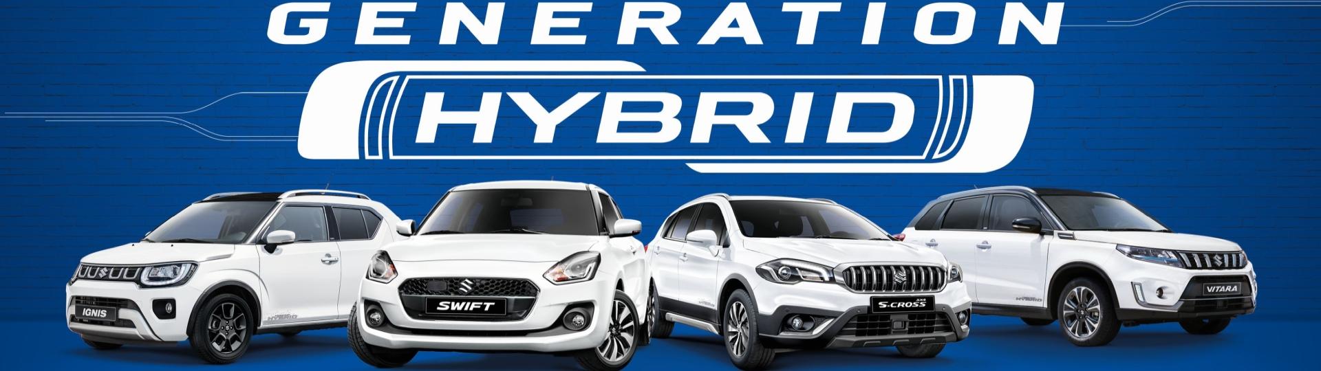 Die neuen Hybrid Modelle von Suzuki