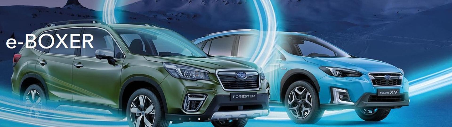 Hybrid - Made by Subaru